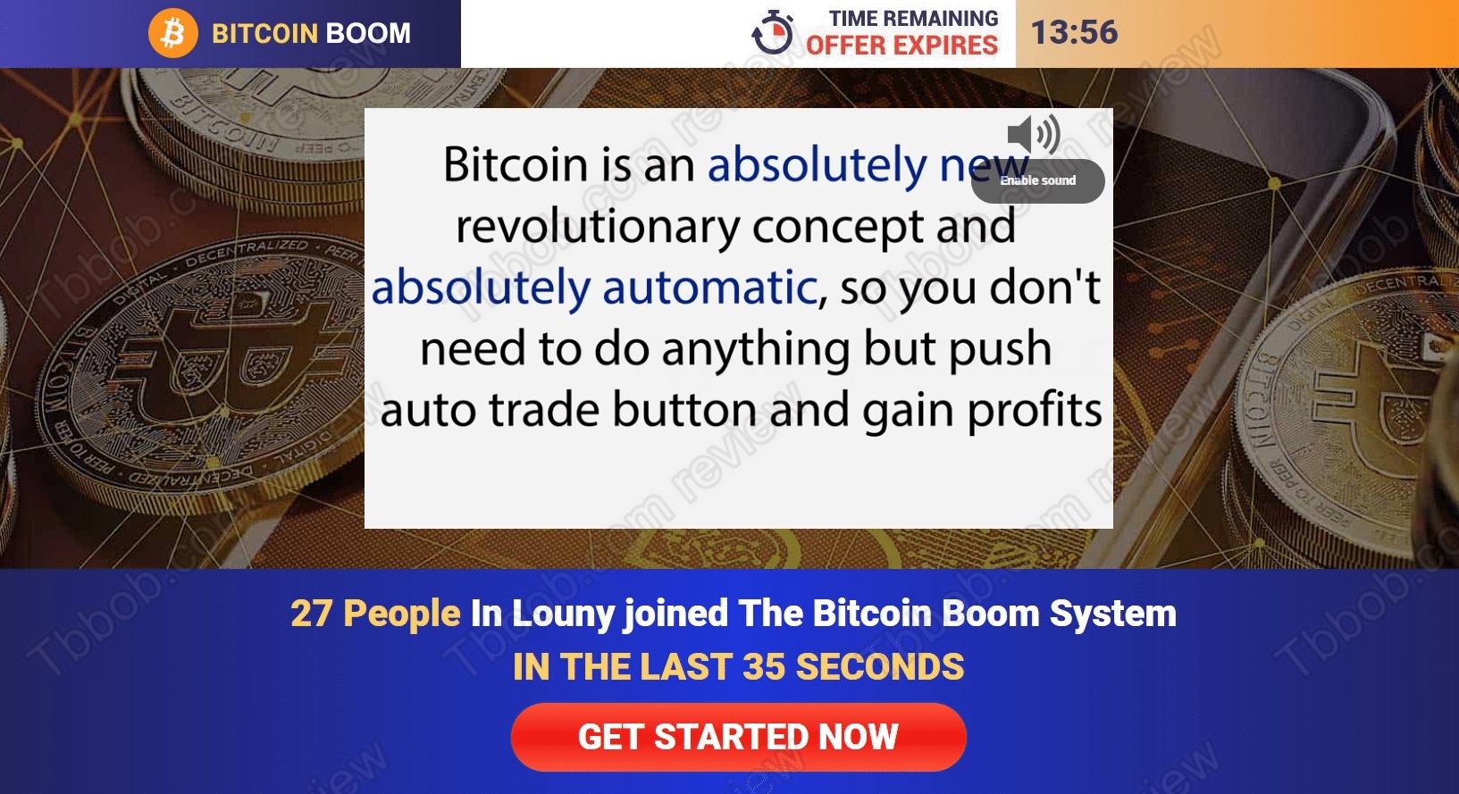Bitcoin Boom Come funziona?
