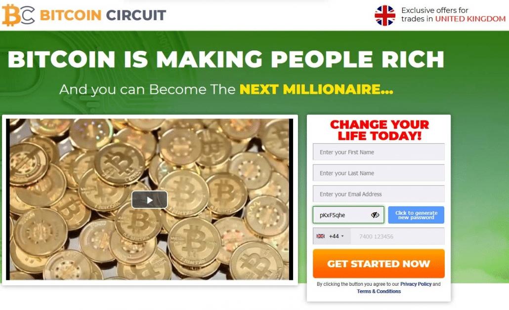 Bitcoin Circuit Οδηγίες χρήσης