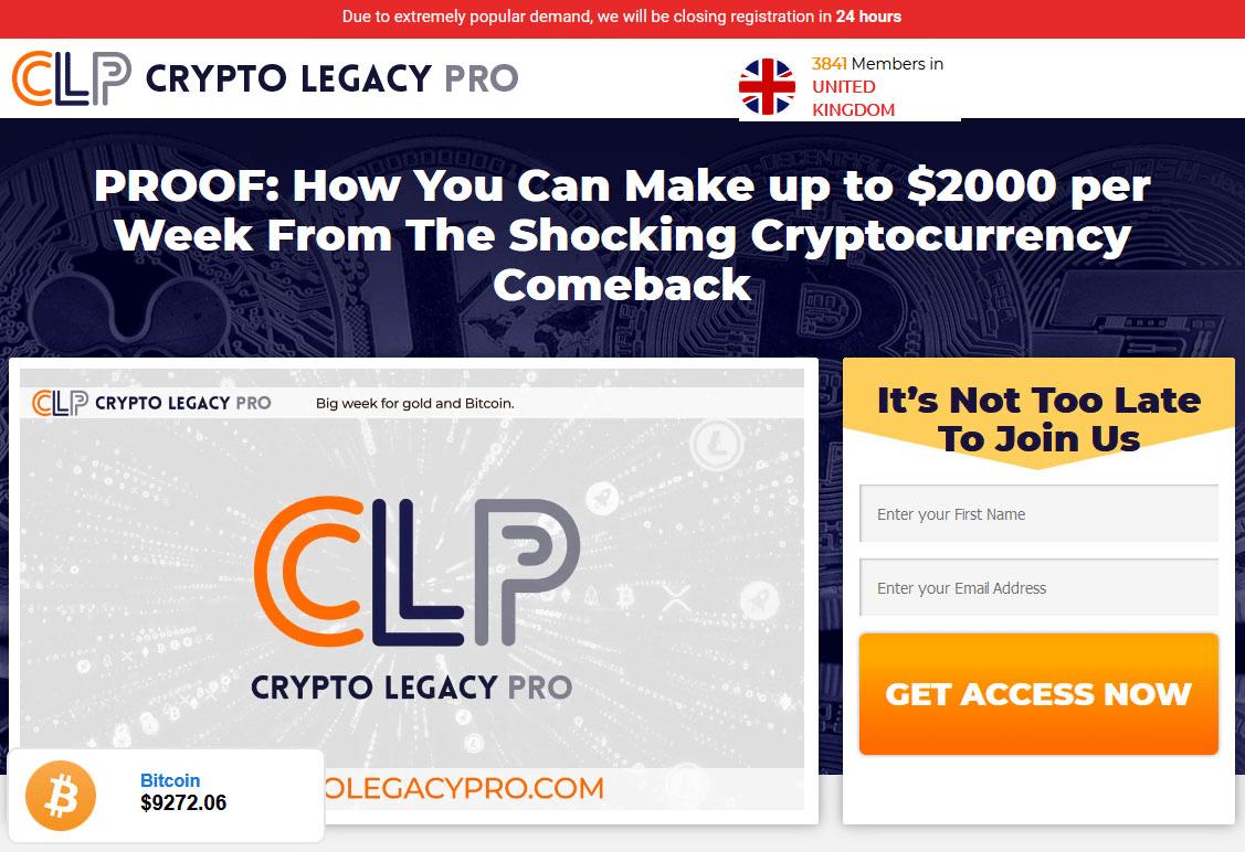 Crypto Legacy Pro Come funziona?